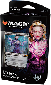 Magic the Gathering: Core Set 2019 Planeswalker Deck - Liliana
