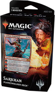 Magic the Gathering: Core Set 2019 Planeswalker Deck - Sarkhan