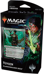Magic the Gathering: Core Set 2019 Planeswalker Deck - Vivien