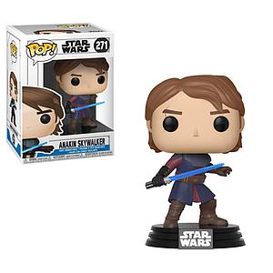 Pop! Star Wars Clone Wars Vinyl Bobble-Head Anakin Skywalker #271