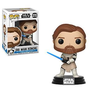 Pop! Star Wars Clone Wars Vinyl Bobble-Head Obi-Wan Kenobi #270