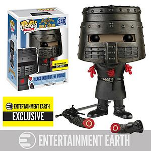 Pop! Movies Monty Python & the Holy Grail Vinyl Figure Black Knight (Flesh Wound) #246 Entertainment Earth Exclusive