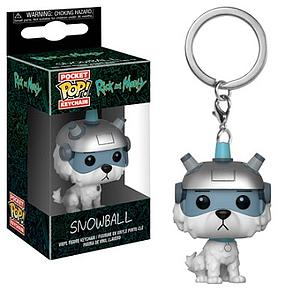 Pop! Pocket Keychain Rick and Morty Vinyl Figure Snowball