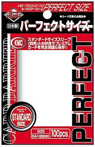 Card Sleeves 100-pack Perfect Standard Size: Clear