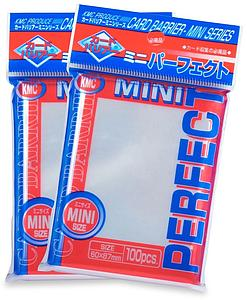 Card Sleeves 100-pack Mini Perfect Size: Clear