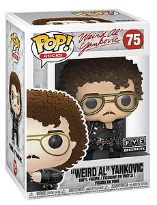 "Pop! Rocks Vinyl Figure ""Weird Al"" Yankovic (Fat) #75 FYE Exclusive"