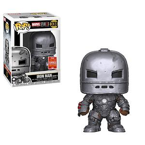 Pop! Marvel Studios The First Ten Years Vinyl Bobble-Head Iron Man (Mark 1) #338 2018 Summer Convention Exclusive