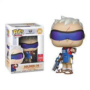 Pop! Games Overwatch Vinyl Figure Soldier 76 (Grillmaster) #346 2018 Summer Convention Exclusive