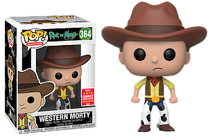 Pop! Animation Rick & Morty Vinyl Figure Western Morty #364 2018 Summer Convention Exclusive
