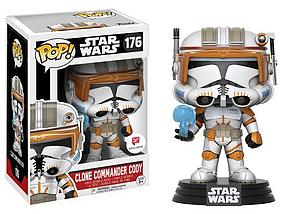 Pop! Star Wars Vinyl Bobble-Head Clone Commander Cody #176 Walgreens Exclusive