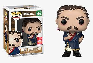 Pop! Television Parks & Recreation Vinyl Figure Ron Swanson #652 2018 Summer Convention Exclusive
