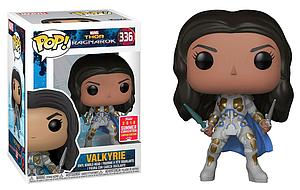 Pop! Marvel Thor Ragnarok Vinyl Bobble-Head Valkyrie (Battle Outfit) #336 2018 Summer Convention Exclusive