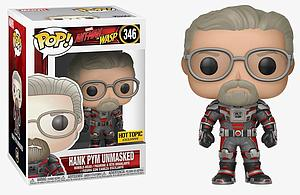 Pop! Marvel Ant-Man and the Wasp Vinyl Bobble-Head Hank Pym Unmasked #346 Hot Topic Exclusive