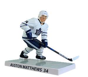NHL Auston Matthews (Toronto Maple Leafs) 2018-2019 (White Jersey)
