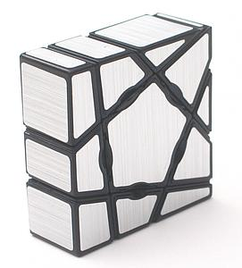 Puzzle Ghost Silver Cube