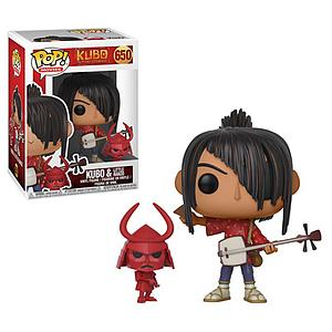 Pop! Movies Kubo and the Two Strings Vinyl Figure Kubo with Little Hanzo #650