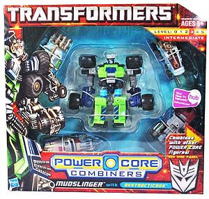 Transformers Power Core Combiners Class: Mudslinger (Opened Package)