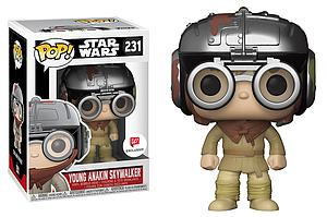 Pop! Star Wars Vinyl Bobble-Head Young Anakin Skywalker (Podracer) #231 Walgreens Exclusive