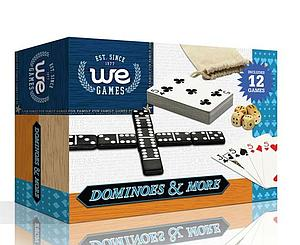 Dominoes & More in a Travel Pouch