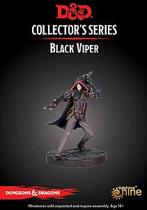 Dungeons & Dragons Waterdeep: Dragon Heist Miniatures Collector's Series - Black Viper