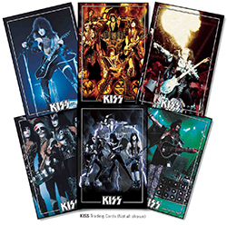 Kiss Deluxe Ultra Premium Trading Card