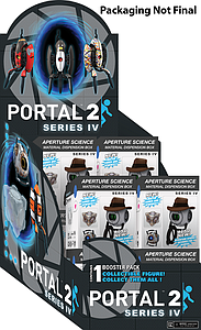 Portal 2 Series IV Blind Box: Single Figure Pack