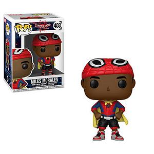 Pop! Marvel Spider-Man Animated Vinyl Bobble-Head Miles Morales with Cape #403