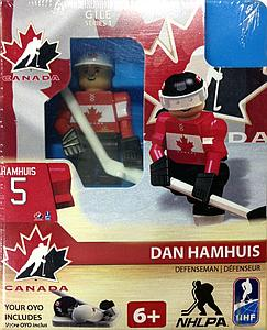 Hockey Minifigures: Dan Hamhuis (Team Canada 2014)