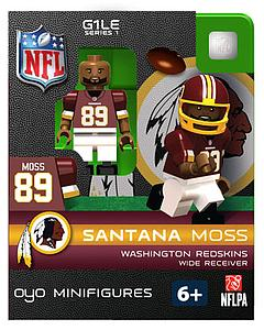 NFL Football Minifigures: Santana Moss (Washington Redskins)