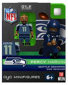 NFL Football Minifigures: Percy Harvin (Seattle Seahawks)