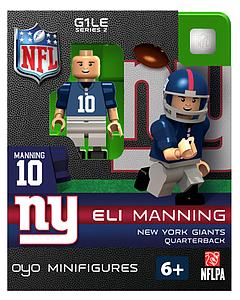 NFL Football Minifigures: Eli Manning (New York Giants)