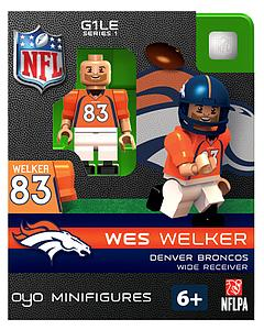 NFL Football Minifigures: Wes Welker (Denver Broncos)
