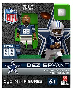 NFL Football Minifigures: Dez Bryant (Dallas Cowboys)