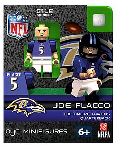 NFL Football Minifigures: Joe Flacco (Baltimore Ravens)