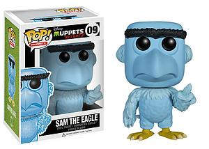 Pop! Disney Muppets Most Wanted Vinyl Figure Sam the Eagle #09 (Retired)