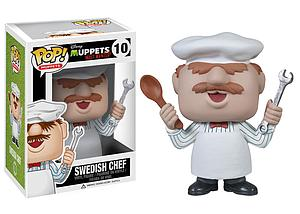 Pop! Disney Muppets Most Wanted Vinyl Figure Swedish Chef #10 (Retired)
