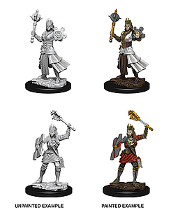 Dungeons & Dragons Nolzur's Marvelous Unpainted Miniatures: Female Human Cleric