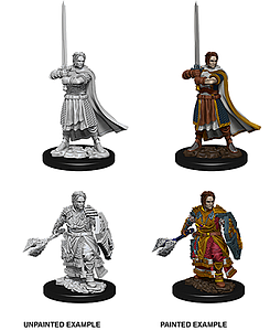 Dungeons & Dragons Nolzur's Marvelous Unpainted Miniatures: Male Human Cleric