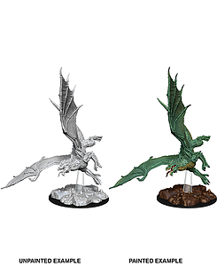 Dungeons & Dragons Nolzur's Marvelous Unpainted Miniatures: Young Green Dragon