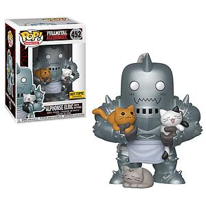 Pop! Animation Fullmetal Alchemist Vinyl Figure Alphonse Elric with Kittens #452 Hot Topic Exclusive