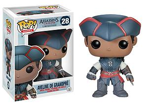 Pop! Games Assassin's Creed III Liberation Vinyl Figure Aveline de Grandpre #28 (Retired)