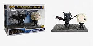 Pop! Movie Moments Fantastic Beasts The Crimes of Grindelwald Vinyl Bobble-Head Grindelwald and Thestral #30 Hot Topic Exclusive