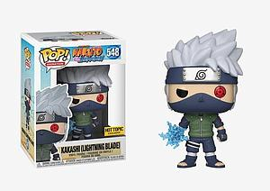 Pop! Animation Naruto Shippuden Vinyl Figure Kakashi (Lightning Blade) #548 Hot Topic Exclusive