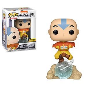 Pop! Animation Avatar: The Last Airbender Vinyl Figure Aang on Airscooter #541 Hot Topic Exclusive