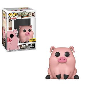 Pop! Animation Gravity Falls Vinyl Figure Waddles #490 Hot Topic Exclusive