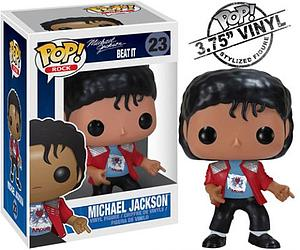 Pop! Music Vinyl Figure Michael Jackson Beat It #23 (Retired)