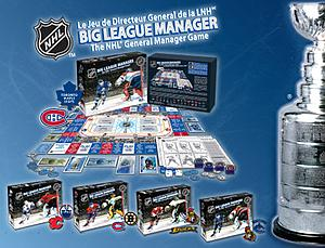 NHL Big League Manager: Classic Edition (Vancouver Ottawa Cover)