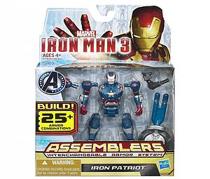 "Iron Man Assemblers Interchangeable Armour System 3 3 3/4"": Iron Patriot"