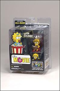 The Simpsons Movie Box Set: Lisa and Maggie