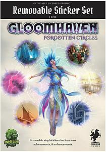 Gloomhaven: Forgotten Circles - Removable Sticker Set #2